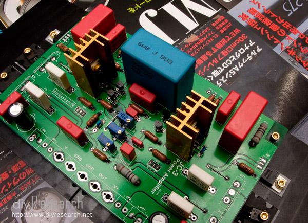 完成第一部份在电路板上的零件组装之后,接著下来要来组装需要固定