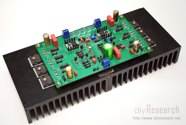 mp150后级扩大机电路板(两片)